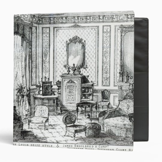 Drawing Room in the Louis Seize Style Binder