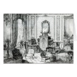 Drawing Room in the Louis Seize Style Greeting Card