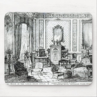 Drawing Room in the Louis Seize Style Mouse Pad