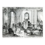 Drawing Room in the Louis Seize Style Postcard