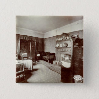 Drawing room, Kelmscott House, London, 1896 (photo Pinback Button