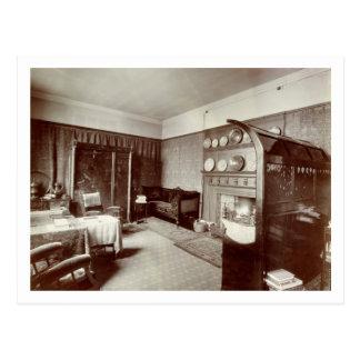 Drawing room, Kelmscott House, London, 1896 (photo Postcard