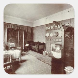 Drawing room, Kelmscott House, London, 1896 (photo Square Sticker