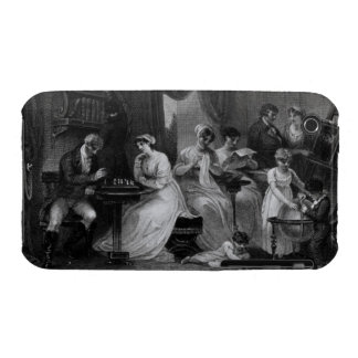 Drawing Room Scene, from 'The Social Day' by Peter Case-Mate iPhone 3 Case