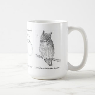 Drawing test coffee mug
