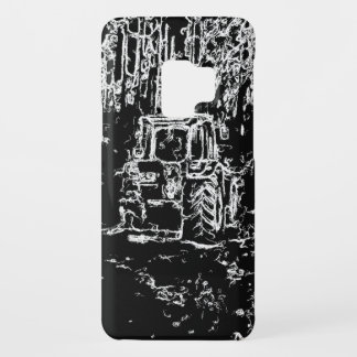 drawing tractor and nature Case-Mate samsung galaxy s9 case