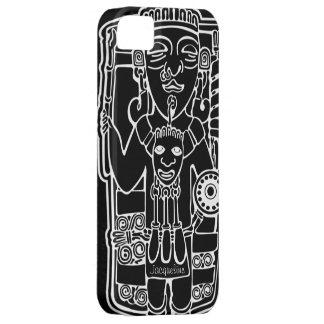 Drawing Vintage Mayan Totem iPhone 5 Case