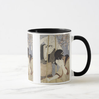 Drawing Water for Breakfast, Utamaro, 1795 Mug