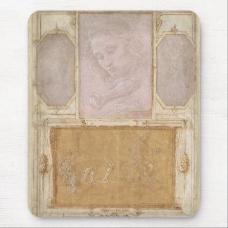 Drawings by Botticelli, Lippi, Vasari Mouse Pad