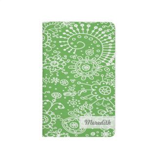 Drawn Doodles Customized Pocket Journal (apple)