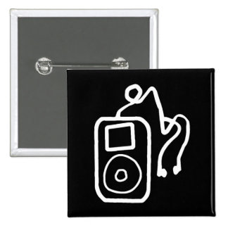 Drawn iPod Black Button