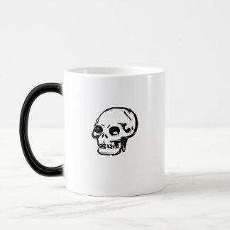 Drawn Skull Magic Mug