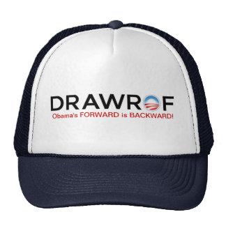 DRAWROF - Barack Obama DELANTERO es gorra
