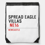 spread eagle  villas   Drawstring Backpack