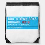 boothtown boys  brigade  Drawstring Backpack