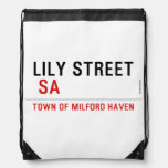 Lily STREET   Drawstring Backpack