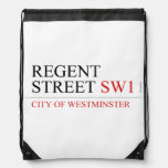 REGENT STREET  Drawstring Backpack