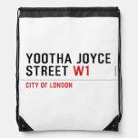 YOOTHA JOYCE Street  Drawstring Backpack