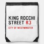 king Rocchi Street  Drawstring Backpack