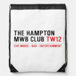 the Hampton  MWB Club  Drawstring Backpack