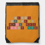 Happy  Periodic  Table Day Fellow Nerds  Drawstring Backpack