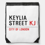 Keylia Street  Drawstring Backpack