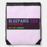BlueParis  Drawstring Backpack