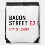Bacon Street  Drawstring Backpack