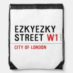 ezkyezky Street  Drawstring Backpack