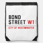 BOND STREET  Drawstring Backpack