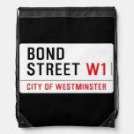 Bond Street  Drawstring Backpack