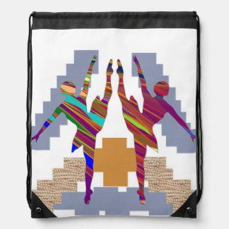 Drawstring Backpack ART by NAVIN JOSHI ART101 GIFT