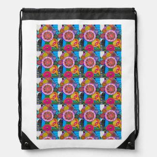 Drawstring Backpack:  ART by NAVIN JOSHI Drawstring Bag