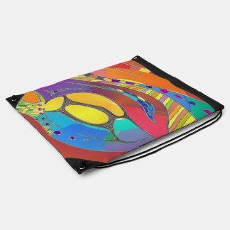 Drawstring Backpack Bold Organic Design