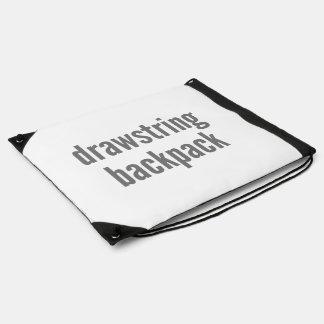 Drawstring Backpack Fill Horizontal Template