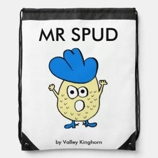 Drawstring backpack of Mr Spud