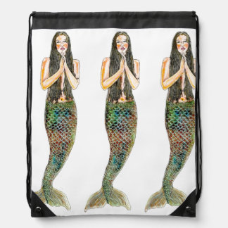 Drawstring Backpack - Sirena Sisters
