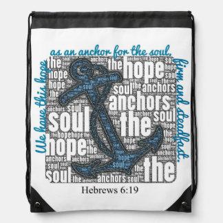 Drawstring Bag - Hebrews 6:19