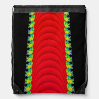 Drawstring Bag w/ Mandelbrot Fractal