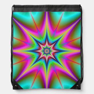 Drawstring Bag   Webbed Star