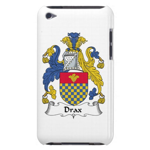 Drax Family Crest Barely There iPod Covers