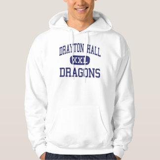 Drayton Hall Dragons Middle Charleston Hoodie