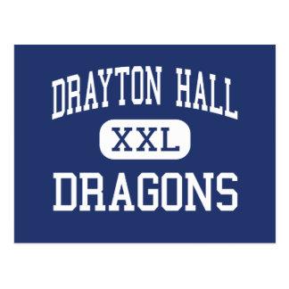 Drayton Hall Dragons Middle Charleston Postcard