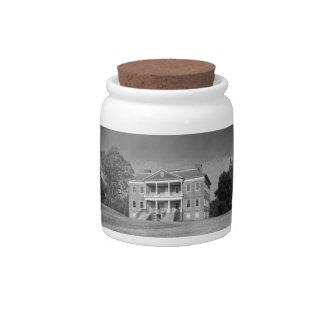 Drayton Hall Plantation, Charleston SC Candy Jar