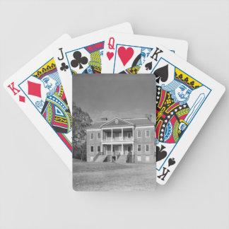 Drayton Hall Plantation, Charleston SC Cards Bicycle Playing Cards