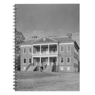 Drayton Hall Plantation, Charleston SC Notebook