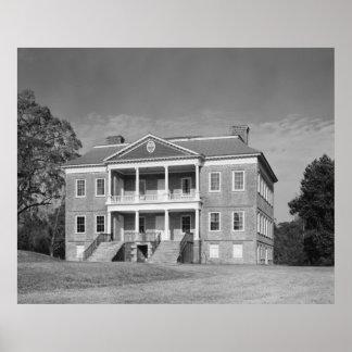 Drayton Hall Plantation, Charleston SC Poster