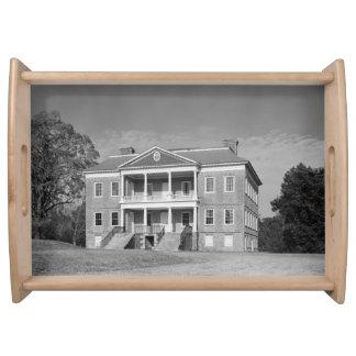 Drayton Hall Plantation, Charleston SC Serve Tray