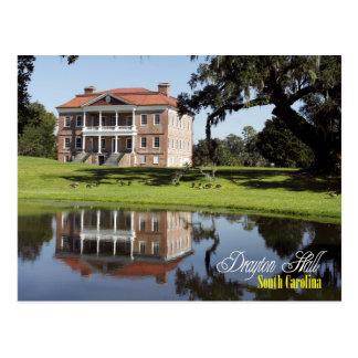 Drayton Hall, South Carolina Postcard