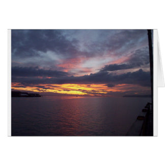 Drayton Harbor Sunset Card
